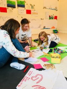 Identitetsskolen - en uke barna aldri vil glemme! uke 26 @ Sjøholmen barnekunsthus